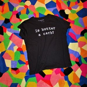NWT Prince Peter Mean Girls Is Butter A Carb? Tee